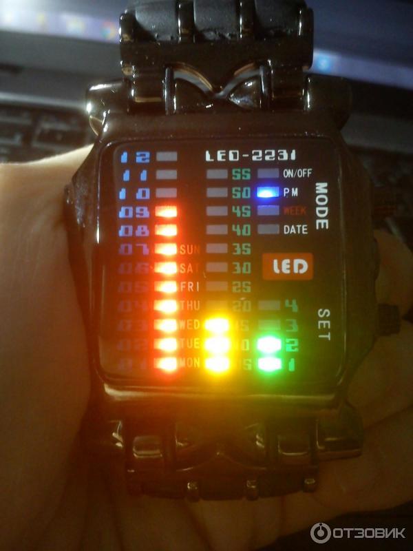 LED часы led watch цены и описание Купить LED часы в