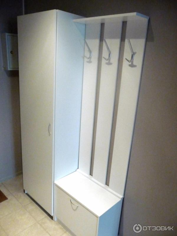 отзыв о настенная панель Ikea тодален минимализм в прихожей