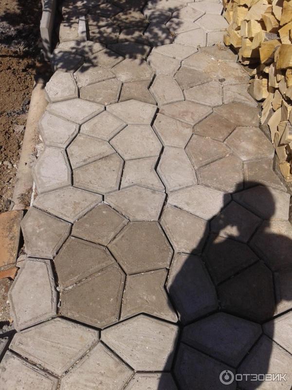 Цемент для садовой дорожки своими руками 33