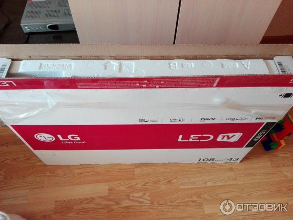 LED телевизор LG 43LF510V фото
