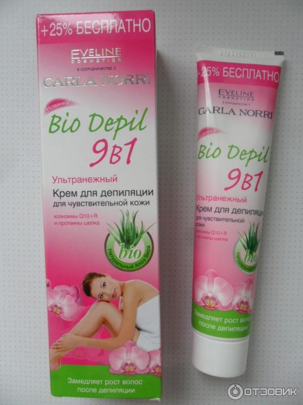 Крем для депиляции eveline bio depil отзывы