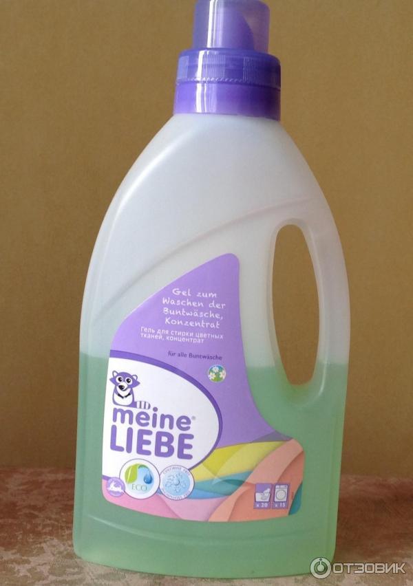 Гель для стирки цветных тканей MEINE LIEBE фото