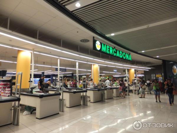 Супермаркет меркадона в кальпе
