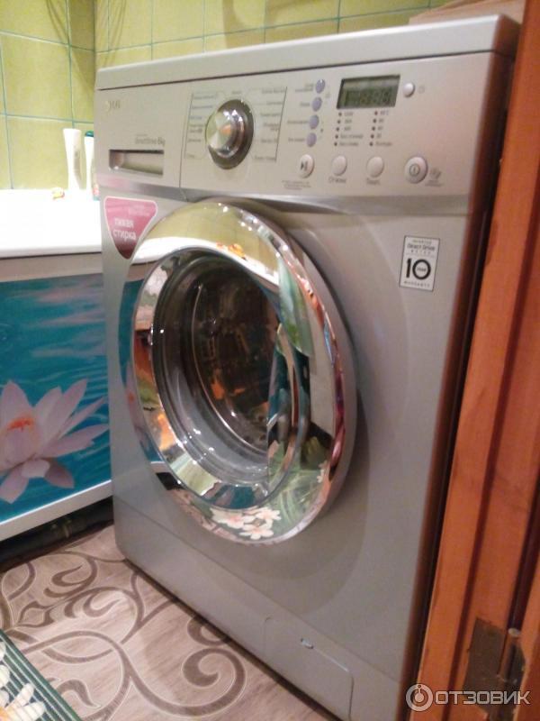 Узкая стиральная машина LG