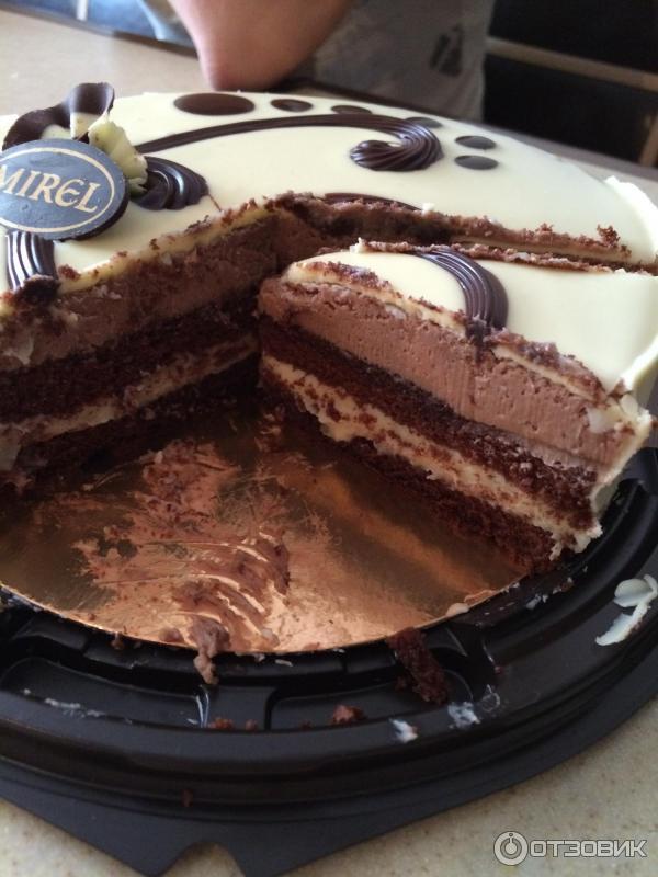 Мирель три шоколада торт рецепт