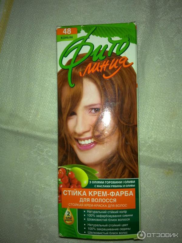 Фитолиния краска для волос палитра