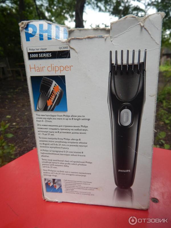 Отзыв о Машинка для стрижки волос Philips QC 5005  6a20c78c667
