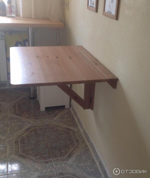 """Отзыв о стол откидной стенного крепежа ikea """"норбу"""" идеальны."""