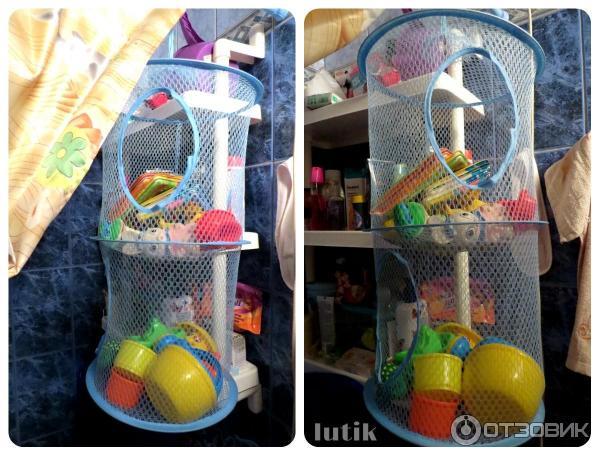 Корзина подвесная для игрушек