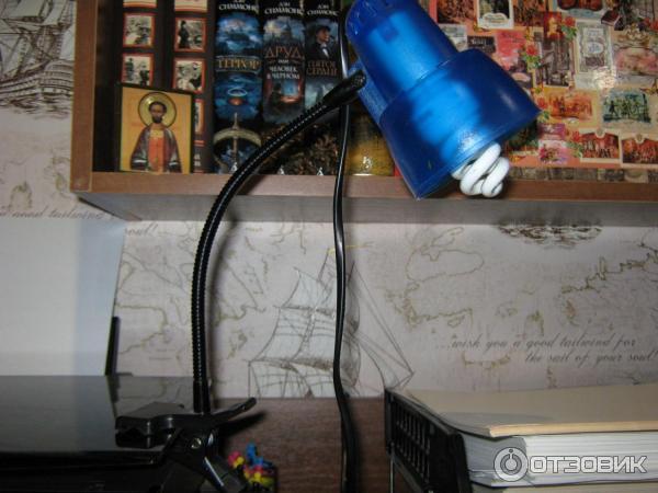 Настольная лампа офисная Roma LST-4274-01 от Lussole