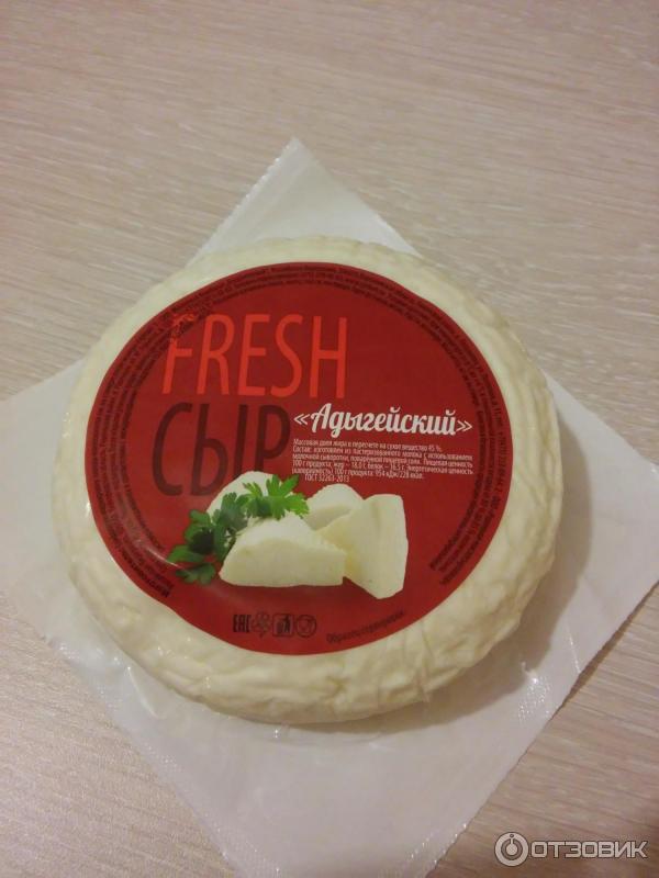 Сыр адыгейский настоящий