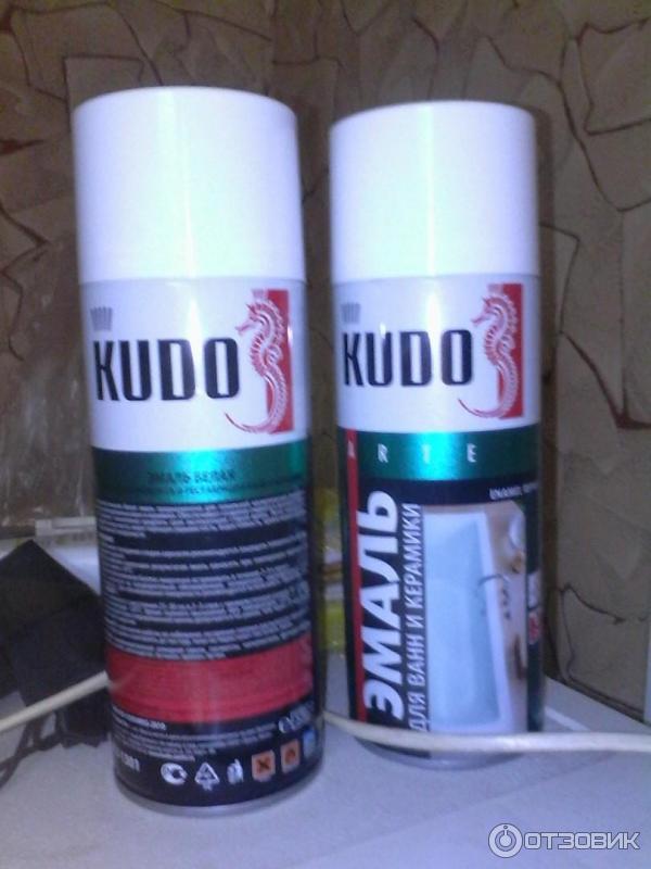 Эмаль для ванн kudo отзывы
