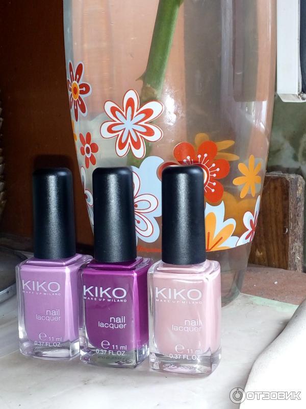 Лаки kiko отзывы