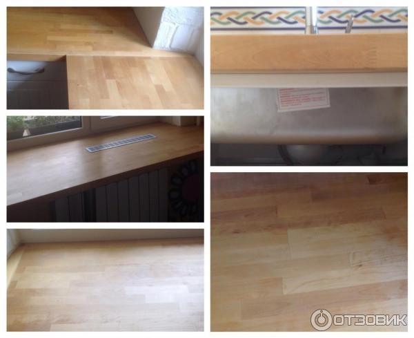 Кухонная деревянная столешница нумерэр Кухонные столешницы искуственный камень Крымская