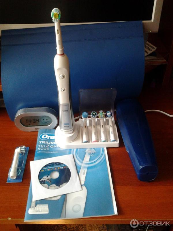 Зубная щетка орал би vitality электрическая купить