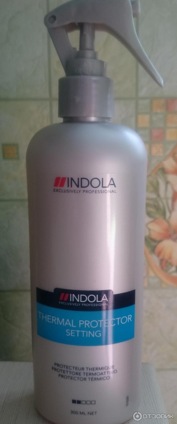 Отзыв о Термоспрей защитный для волос Indola Innova Setting Thermal Protector Супер спасение для волос