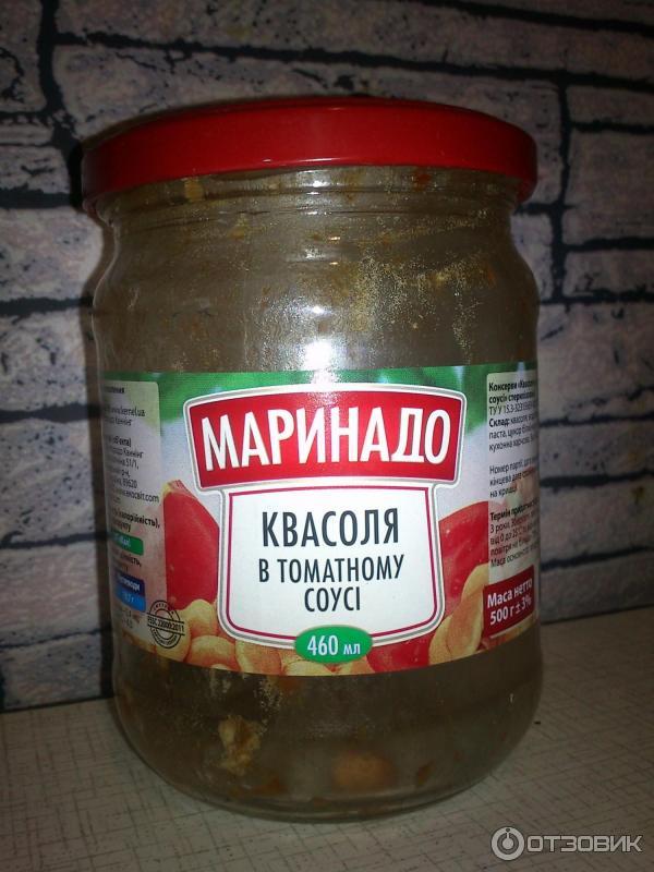 Консервирования из фасоли в томатном соусе
