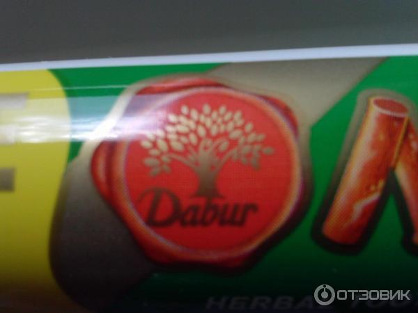 Зубная паста со вкусом аниса