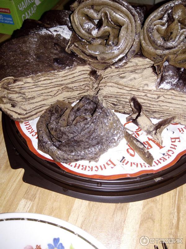 торт бисквитный двор блинный