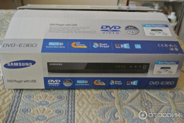 DVD-плеер Samsung DVD-E360K фото
