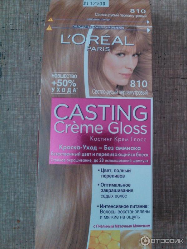 Перламутрово светло русый цвет волос