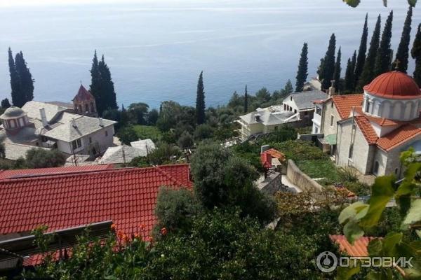 Экскурсия в монастырь святого Павла (Греция, Афон) фото