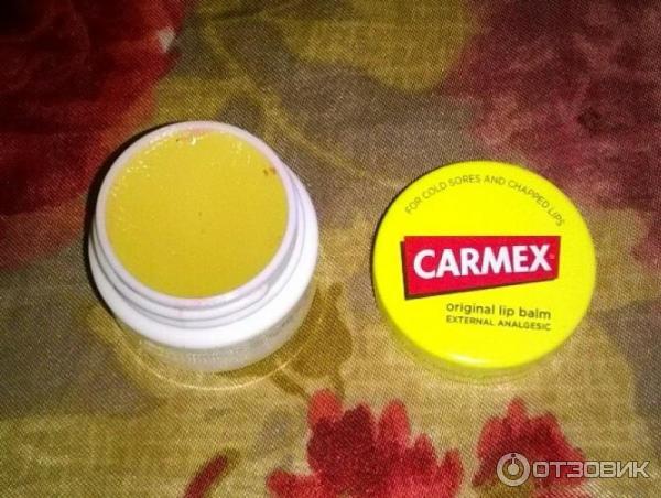 Carmex бальзам для губ классический отзывы