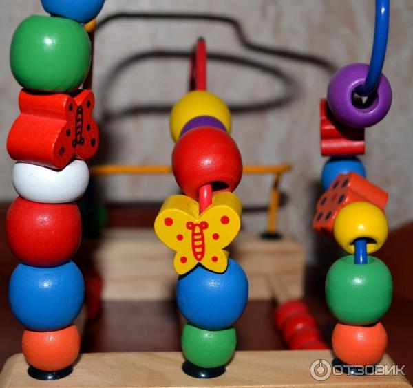 Развивающая игрушка винтик