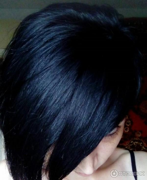 Ночной сапфир цвет волос