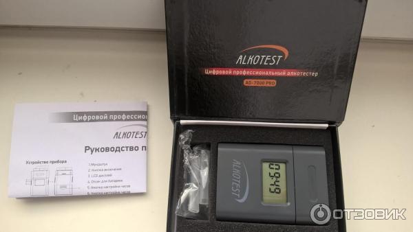 Alcotest Ad 7000 Pro инструкция - фото 2