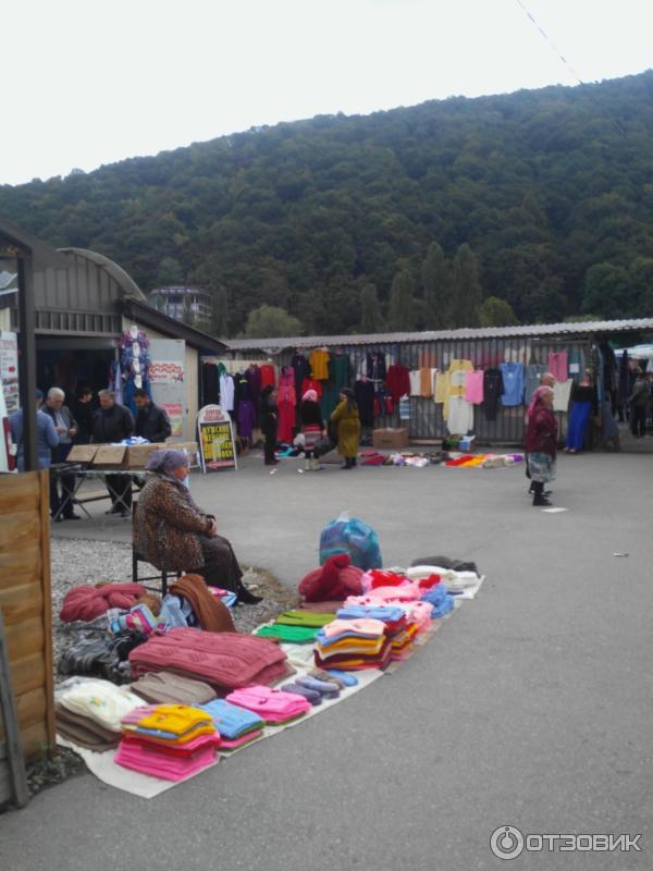 Черкесский рынок вязанных вещей