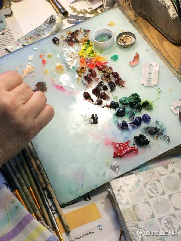 Федоскинская фабрика миниатюрной росписи (Россия, Московская область, Мытищинский район, село Федоскино) фото