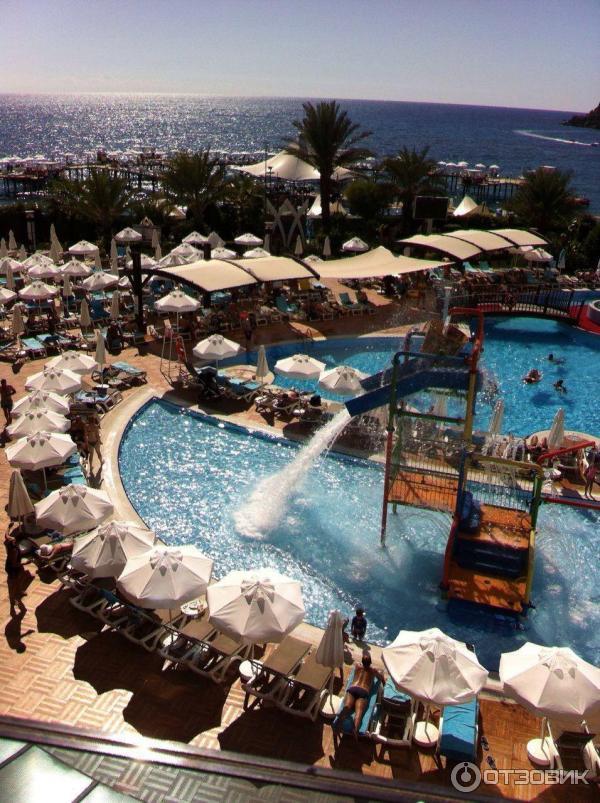 Отель Granada Luxury Resort amp Spa 5 в Алании Турция