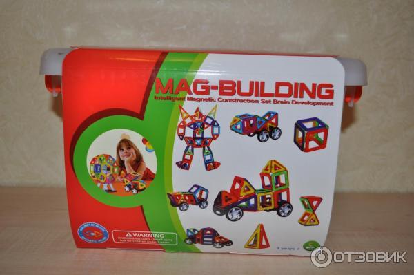 Маг билдинг магнитный конструктор отзывы