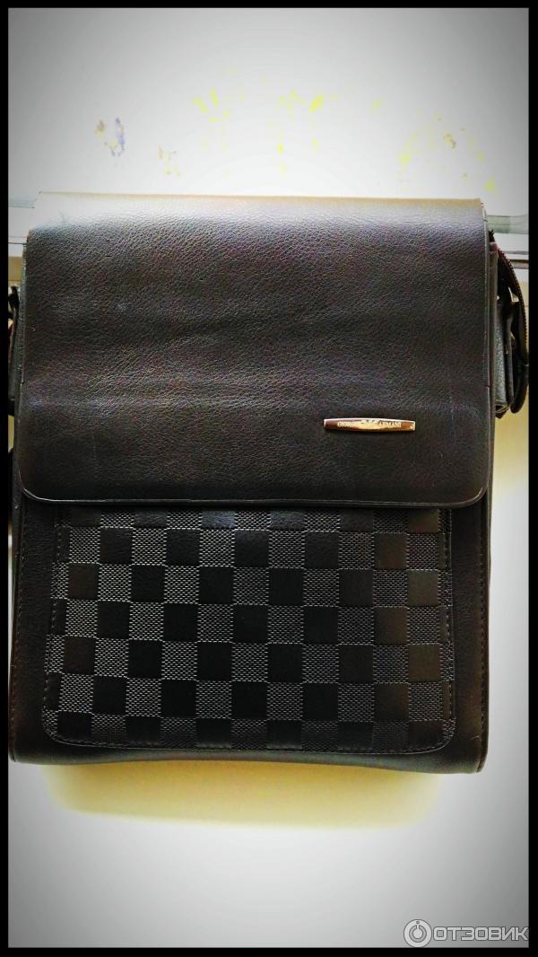 Мужская сумка через плечо Giorgio Armani недорого в