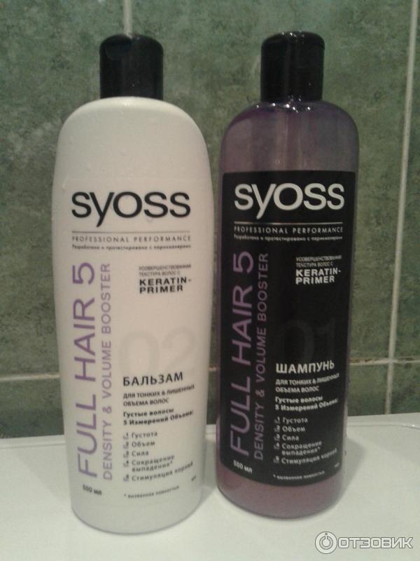Шампунь syoss для тонких и лишенных объема волос отзывы