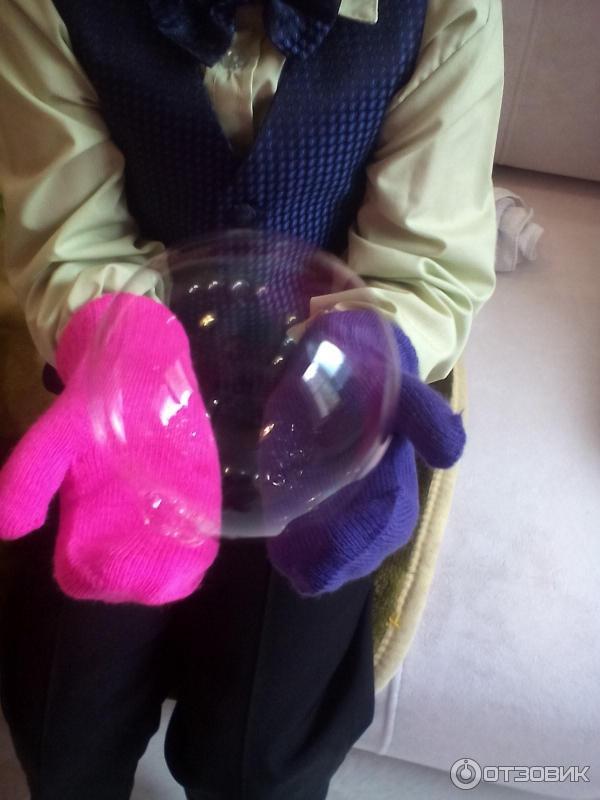 Как сделать эластичные мыльные пузыри дома