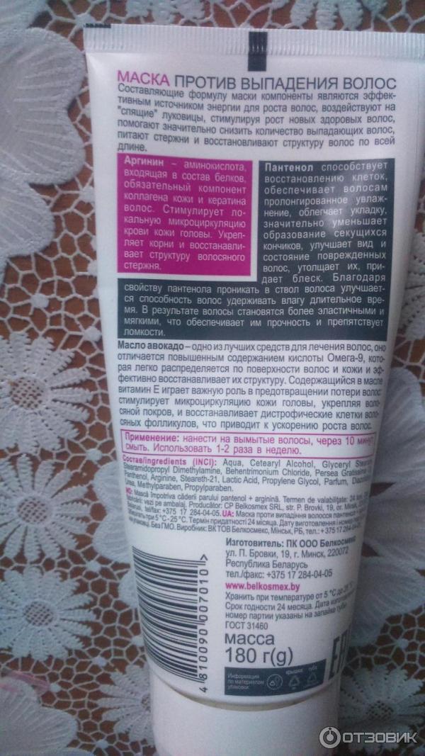 Лечебные маски от выпадения волос в домашних