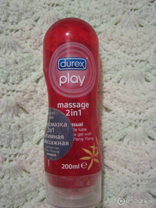 Гель смазка для интимного массажа