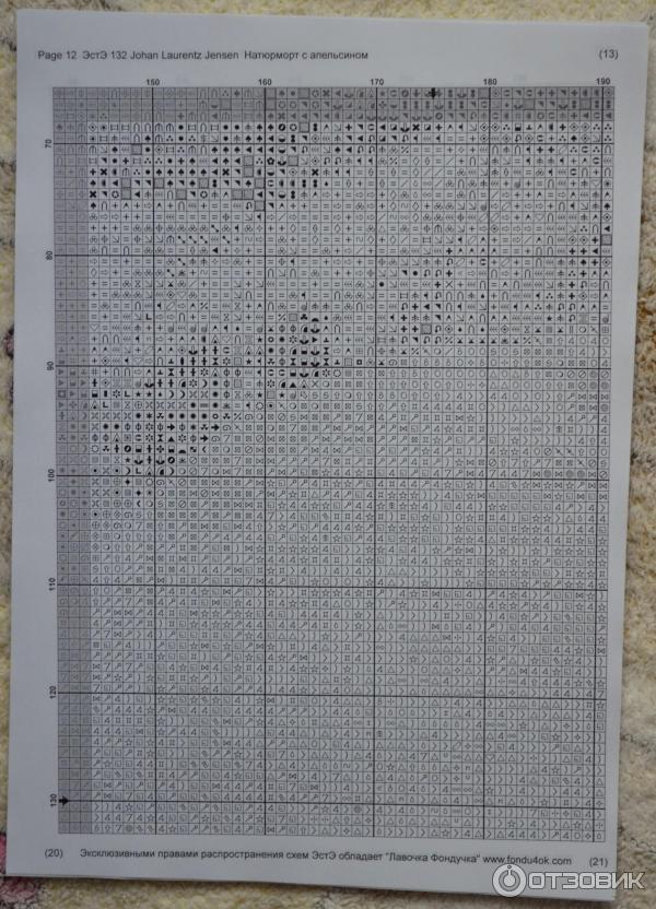 Пример схемы с средним по сложности участком