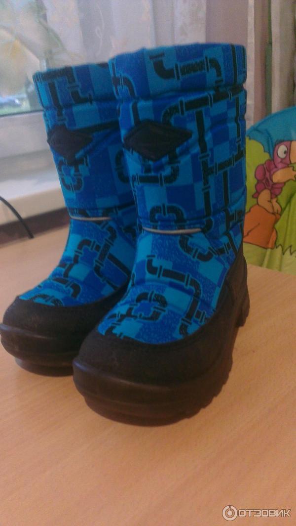 Обувь детская зимняя куома