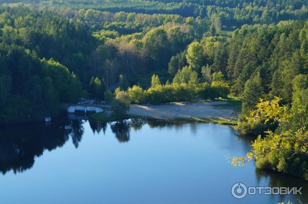 поселок озера в близи красноярска это