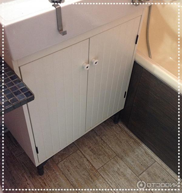 отзыв о мебель для ванной комнаты Ikea силверон не самый