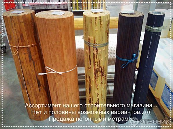 Своими руками бамбуковое полотно