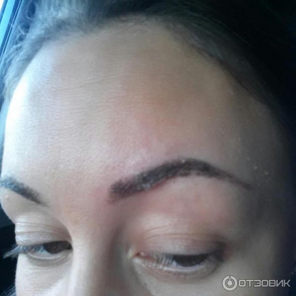 Сколько держится перманентный макияж бровей