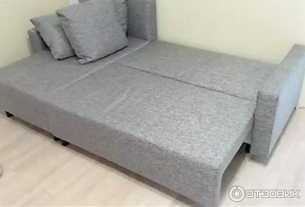 Отзыв о Диван-кровать с козеткой Ikea Lugnvik   Функциональный ... b34e69a6d6a
