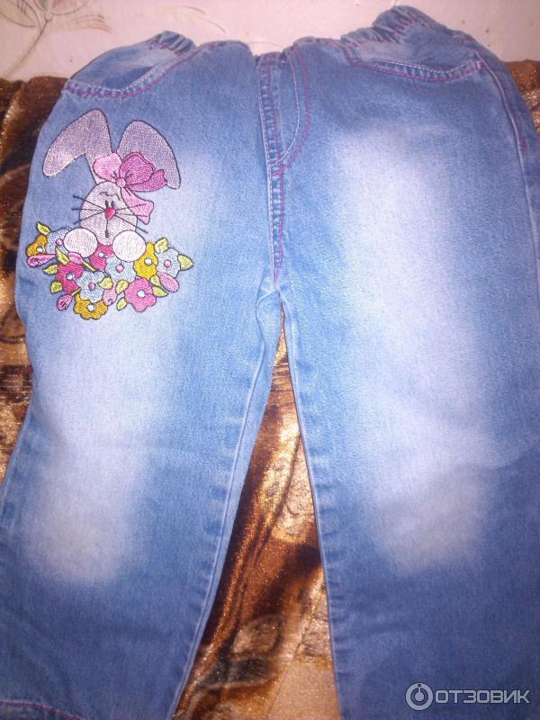 Глория джинс джинсы с вышивкой 576