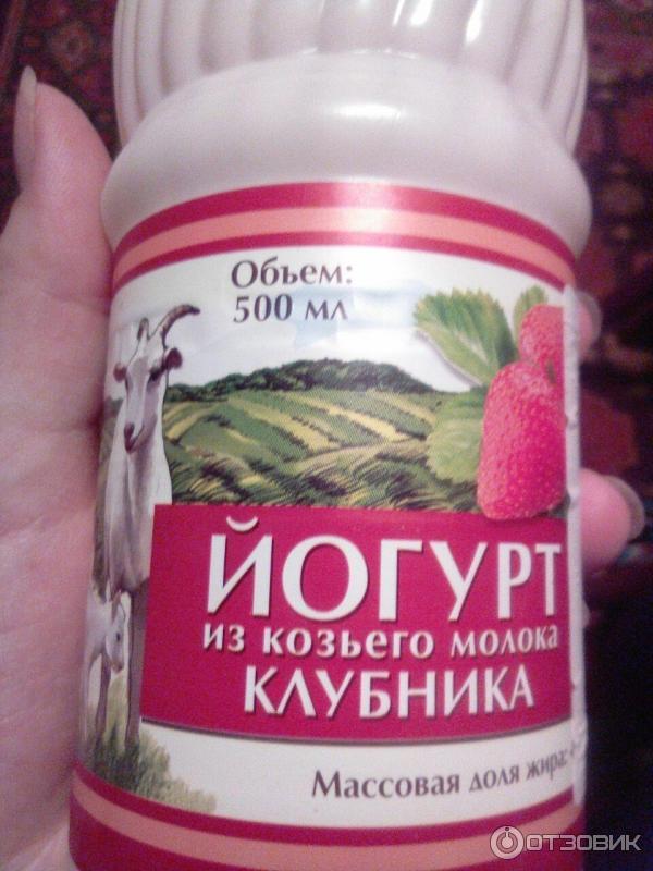 Козий йогурт в домашних условиях 677