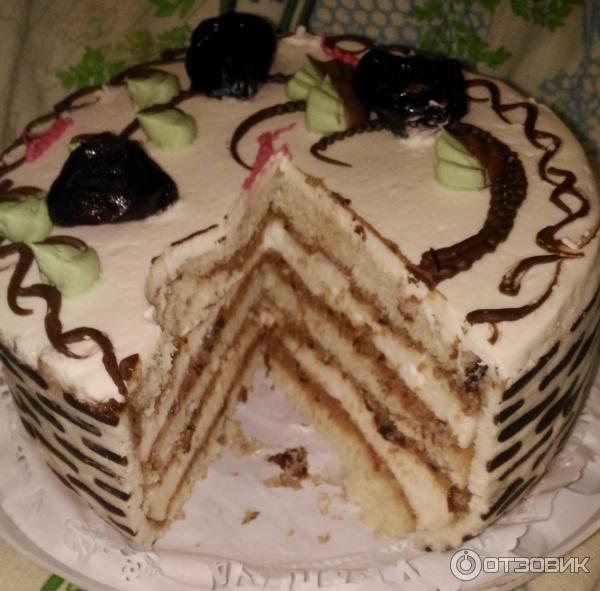Рецепт торт с черносливом от палыча рецепт