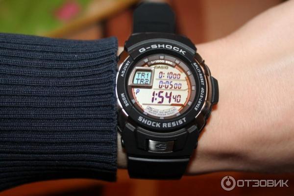 подарить любимым часы casio g shock g 7700 этой